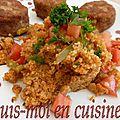 Bulgur pilavi (turquie)