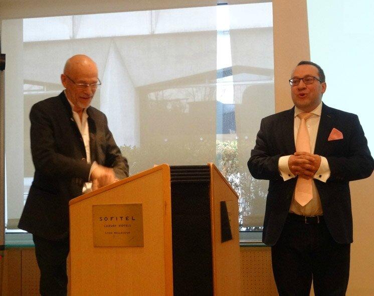 Pierre Flinois et Pascal Bouteldja