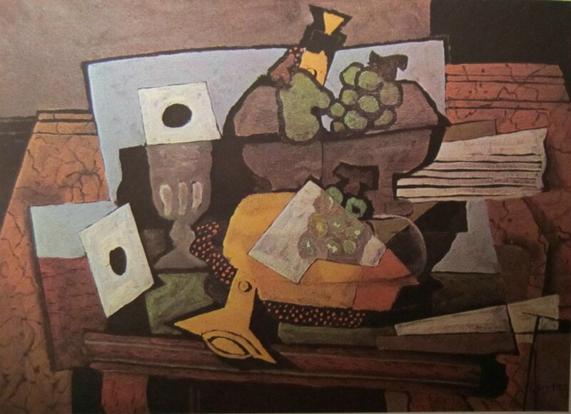 Nature morte à la clarinette 1927