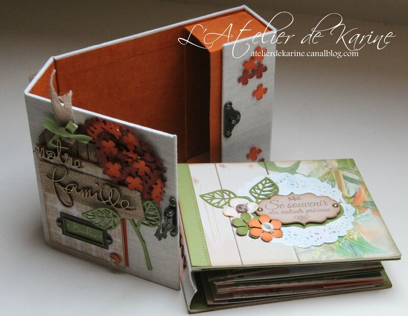 Mini Album et son coffret - Pure Lorelaïl Design 17