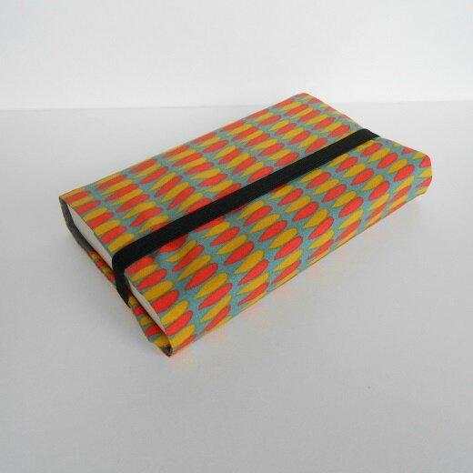 Protège livre goutte orange et jaune1