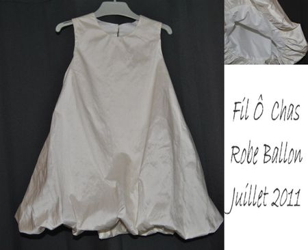 Robe ballon - juillet 2011