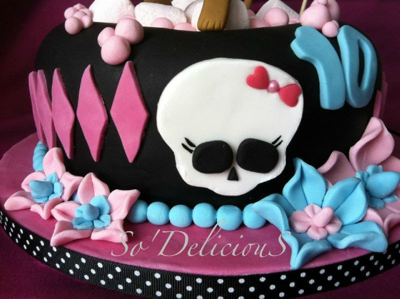 Exceptionnel Gâteau Monster High - So'DeliciouS QW07