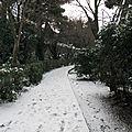 piste pour ski de fond