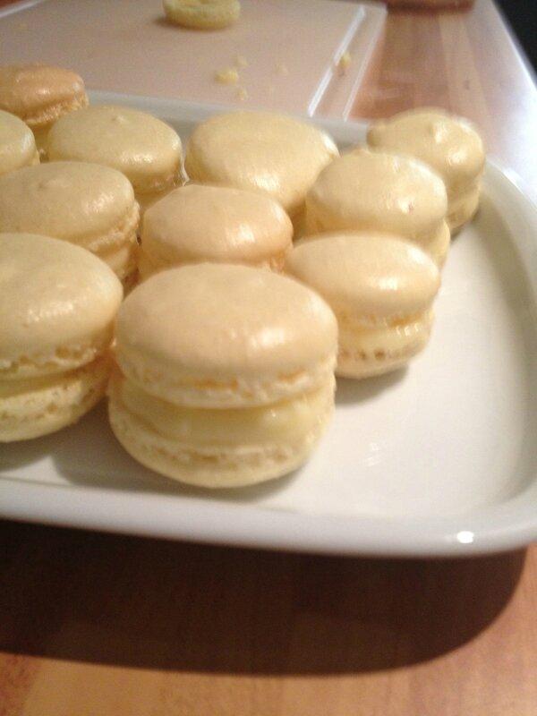 Macarons limoncello