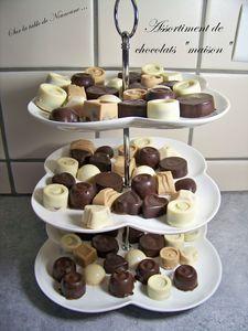 Assortiment chocolat maison 1