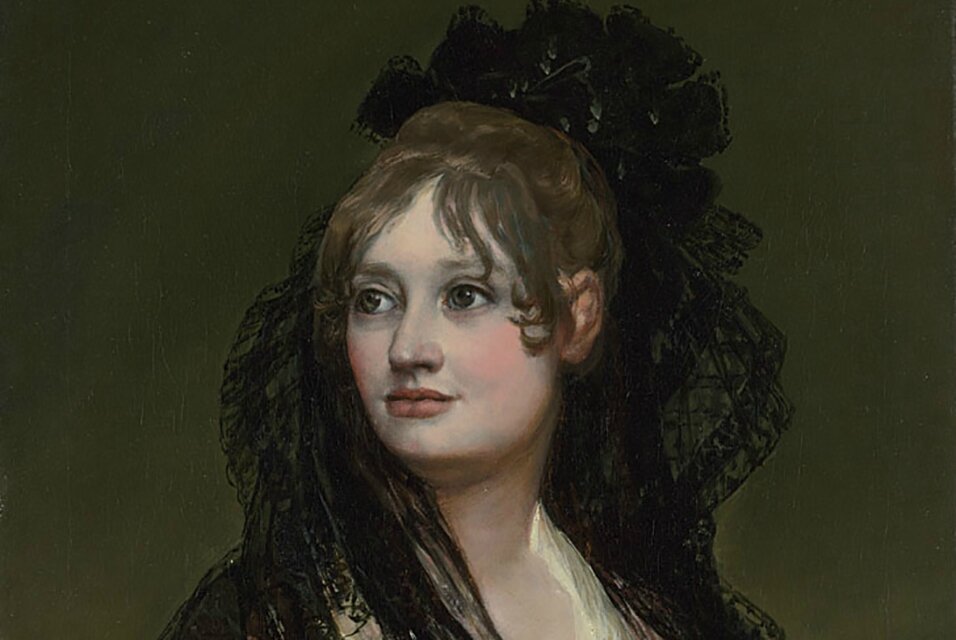 Francisco de Goya's 'Portrait of Dona Isabel de Porcel': A question of attribution