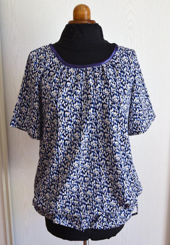 Blouse légère-Ma petite garde-robe- couture-La chouette bricole