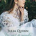 [parution] un goût de paradis de julia quinn
