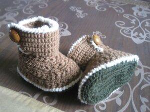 tites bottes crochet 1