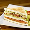 Club sandwich saumon avocat
