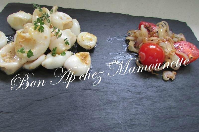 calamars à la plancha oignons et tomates cerises 016