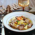 Pot-au-feu de foie gras ~, facile à faire {recette}