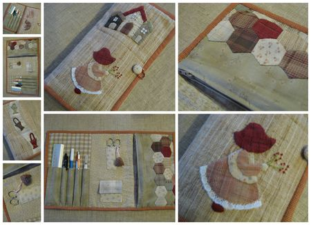 trousse  quilting