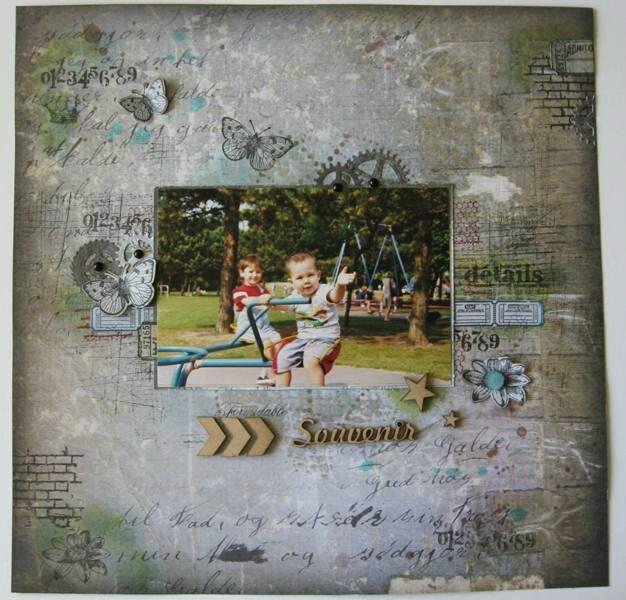 Souvenir page de Chopinette