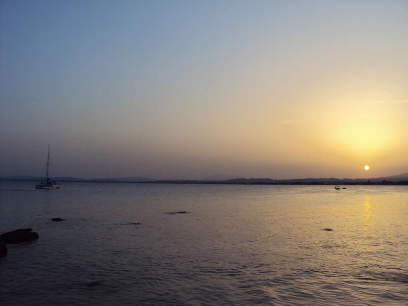 Le coucher de soleil du jeudi 19 août 2010