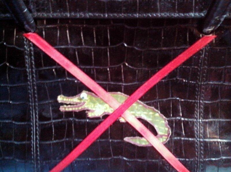 sac faux crocodile faux Hermès