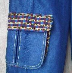Pantalon Baggy - Poche à soufflet