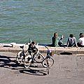 Vélo, ombres Quai de Seine_3012