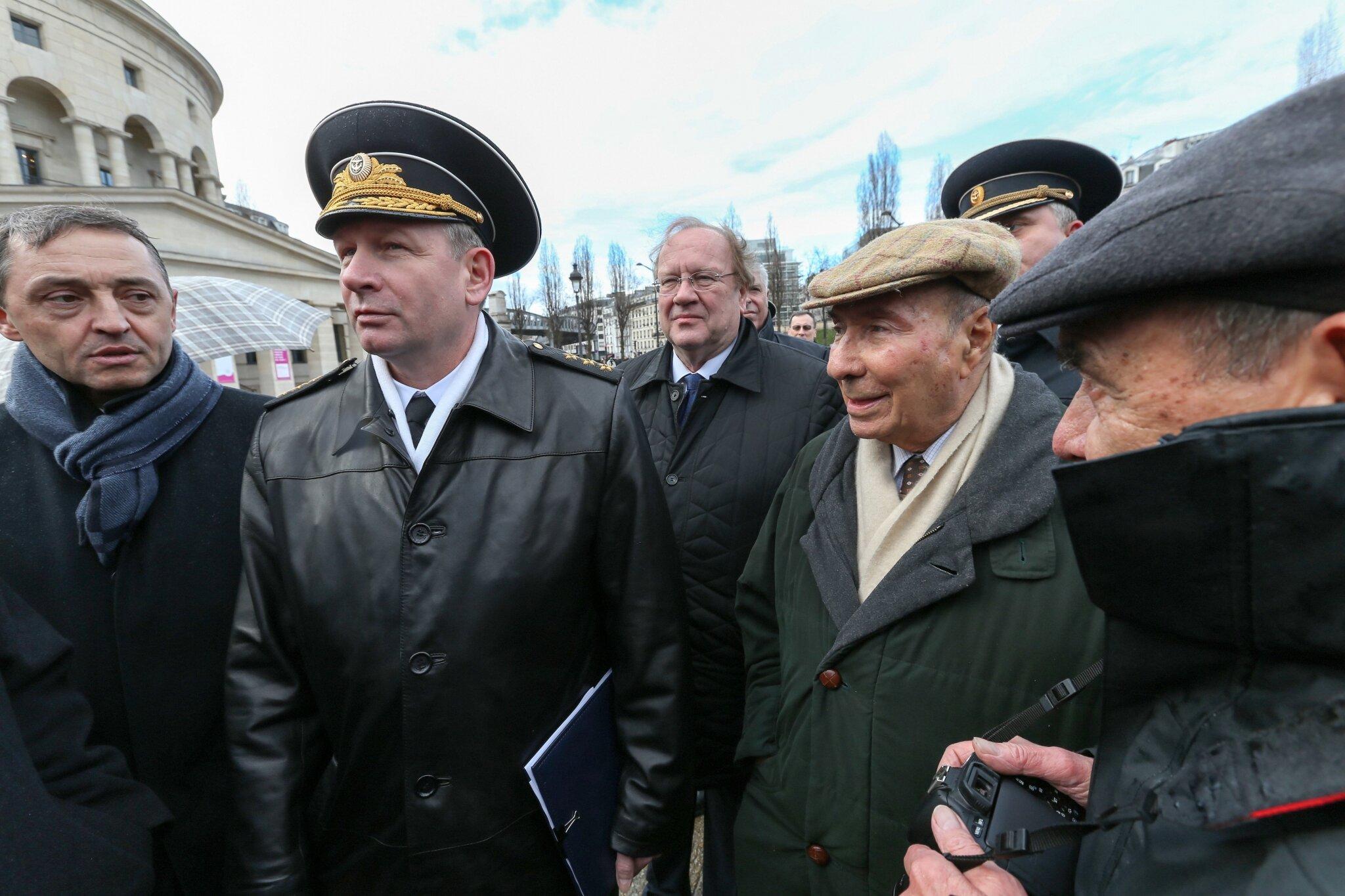 Il y a 70 ans, la bataille de Stalingrad : commémoration à Paris. © Michel Stoupak. Sam 02.02.2013, 15:49.