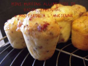 mini muffins allumette bacon