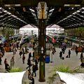 Embarquement gare de Lyon.