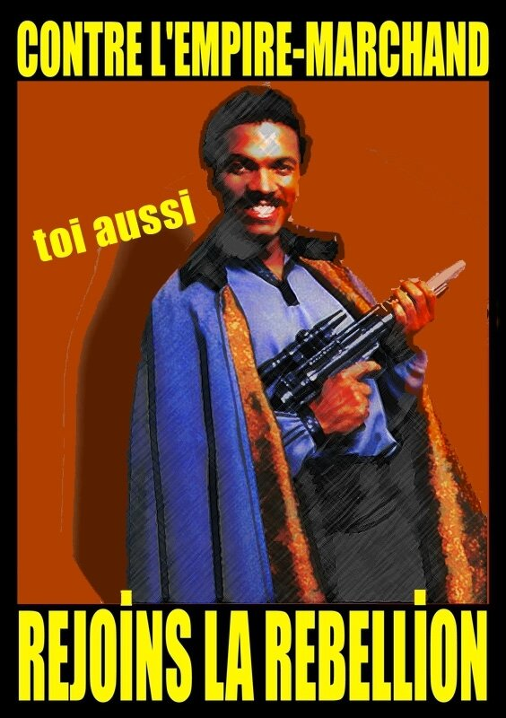 Contre l'Empire-marchand star wars 06 Lando Calrissian copier