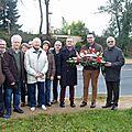 Commentry : l'hommage départemental à françois mitterrand