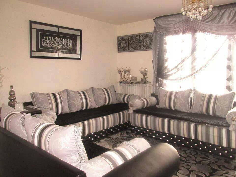 salon marocan assouil salon marocain moderne. Black Bedroom Furniture Sets. Home Design Ideas
