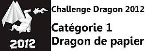 0 Challenge dragon papier