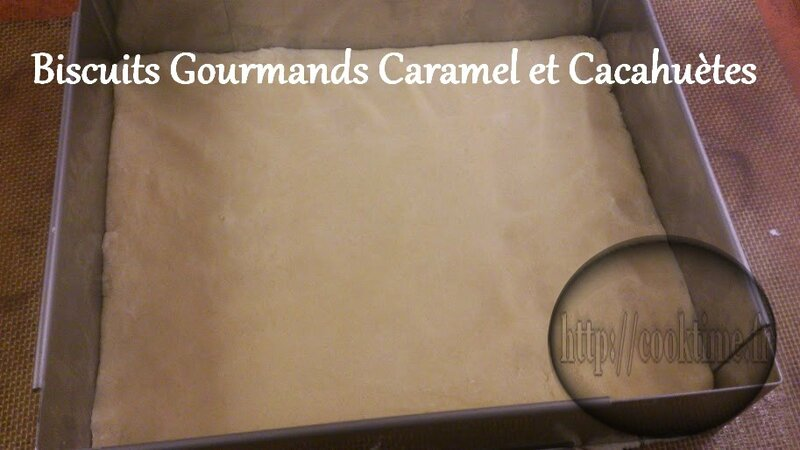 Biscuits Gourmands Caramel et cacahuètes au Thermomix 2