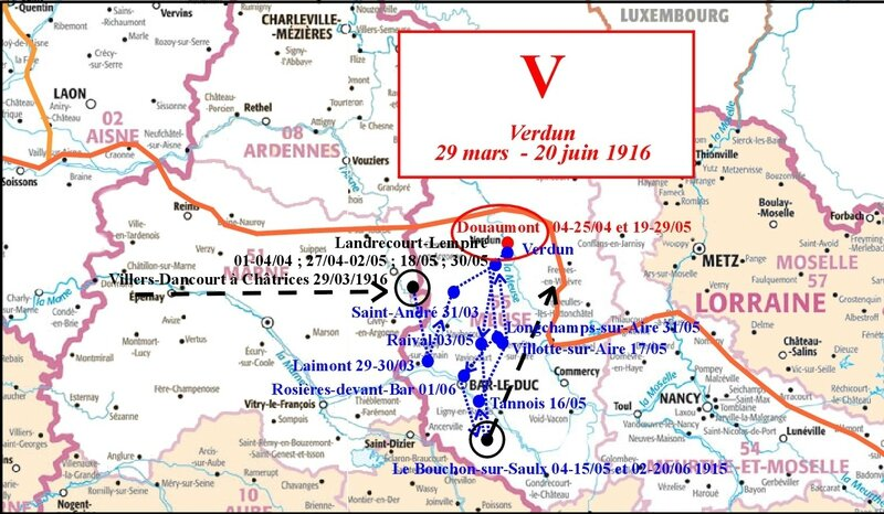 Carto Journal de Marche V Verdun