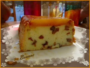 Cake de semoule à l'ananas