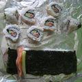 Makis - saumon et concombre