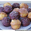 Muffins facon gateau yaourt au citron et au chocolat