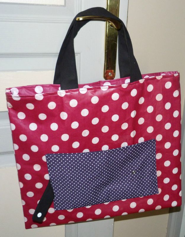13. sac pliable girly - ouvert