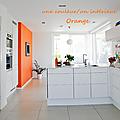 Une couleur/un intérieur : orange