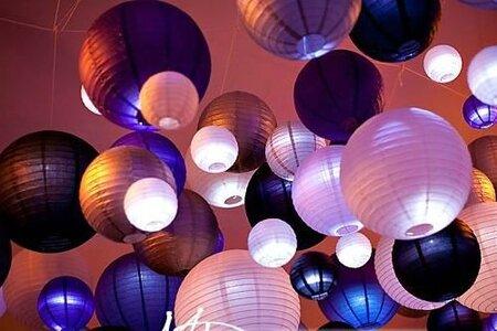 lanterne-mariage-deco-plafond-violet-mauve-beige-parme
