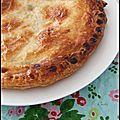 Galette des rois a la compote de courge & pommes - torta de los reyes a la compota de calabaza & manzanas