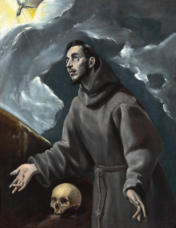 Domenikos Theotokopoulos, called El Greco (Greek, 1541-1614), The Stigmatization of St