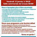Somme : réunion publique de la france insoumise à creuse le 13 janvier 2017 à 18h30