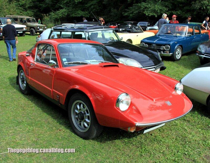Saab sonett coupé 2 places de 1966 (283ex)(32ème Bourse d'échanges de Lipsheim) 01
