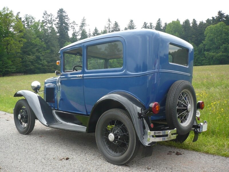 FORD Model A 2door Sedan Bad Teinach - Schmieh (2)