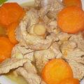 * sauté de veau aux carottes *