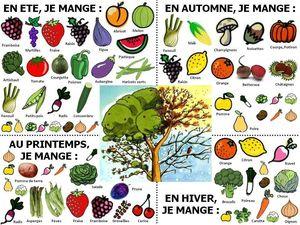 Consommation fruits et légumes de saison Le PHARE (Projet Humaniste Alternatif pour une République Eco-citoyenne)