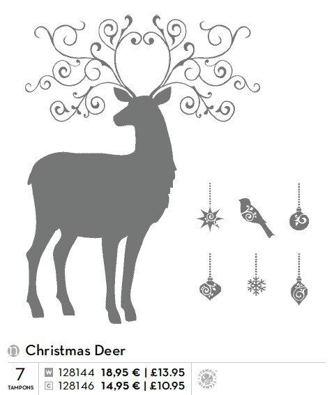 p019 christmas deer
