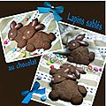 Lapins sabls au chocolat (sans emporte pice)