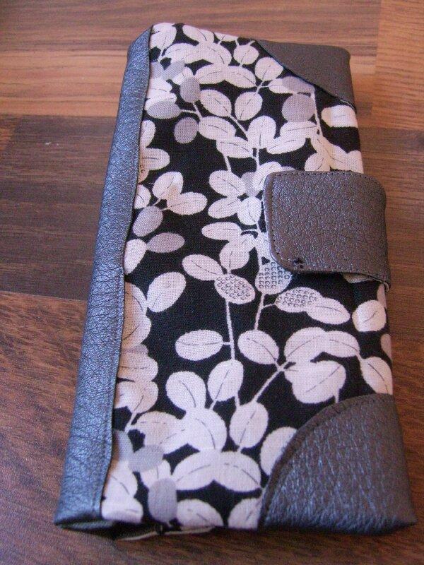 porte chéquiers tissu japonais