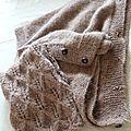 Une poule qui tricote....