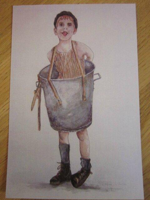 Carte Postale - La Guerre des Boutons - Le P'tit Gibus (2)